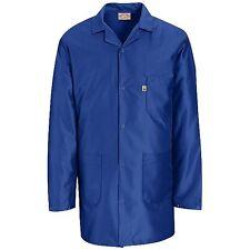 Esd Anti-Static Premium Lab Jacket Coat Unisex Kk26 Red Kap Blue or White 2nd