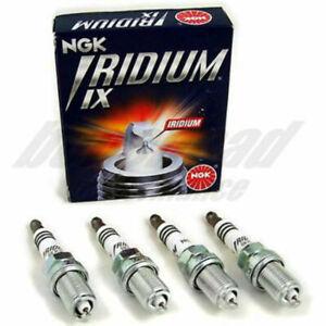 NGK Iridium IX Spark Plugs for 04-14 Subaru Impreza STI (Set of 4) Stock Heat