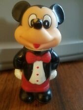 New listing Mickey Mouse Tootsietoy 1986 Bubble Bottle W/Bubble Wand In Head