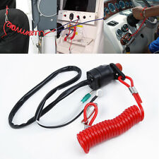 Outboard Boat kill switch Engine Motor With safety tether Racing safety Useful