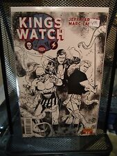 King's Watch #1 B&W Sketch 2nd Print Variant Dynamite Flash Gordon Phantom RARE