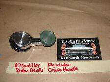 OEM 1967 GM Corvette Cadillac VENT FLY WINDOW CRANK HANDLE GREEN KNOB 5719481
