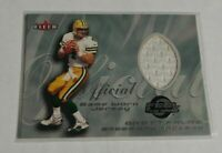 R20,374 - BRETT FAVRE - 2000 FLEER - FEEL THE GAME JERSEY - PACKERS -