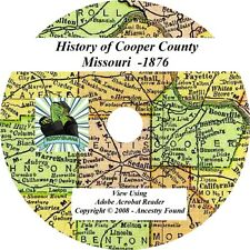 1876 History & Genealogy of COOPER County Missouri MO