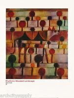POSTER :ART:RYTHMIC WOODED LANDSCAPE by PAUL KLEE - FREE SHIP #68-10331  LW12 B