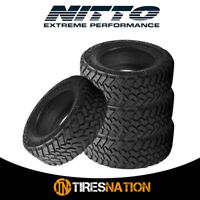 (4) New Nitto Trail Grappler M/T 35/12.5/17 121Q Off-Road Traction Tire