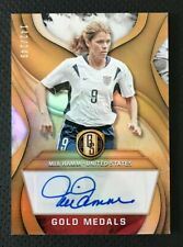 2019-20 Panini Gold Standard Mia Hamm Gold Medals Autograph #142/149 - USWNT
