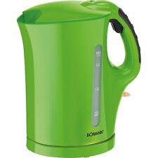 Bomann WK 5011 CB G Grün Wasserkocher Wasserstandsanzeige  2.200 Watt