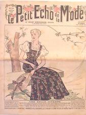 Le Petit Echo de la Mode N° 21 du 26/05/1935  Mode Art Déco