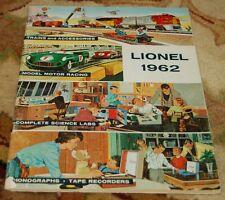 Lionel 1962 catalog C-7 excellent condition