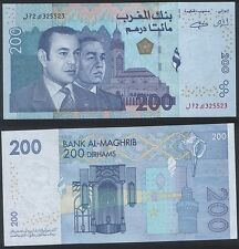 Morocco RADAR 325523 P 71 - 200 Dirhams 2002 - UNC