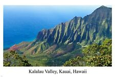 Kalalau Valley Kauai Hawaii TRAVEL POSTER 24X36 Beautiful SCENIC DECOR new
