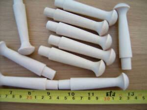 10x Hardwood shaker pegs, LARGE, coat pegs, mug pegs.