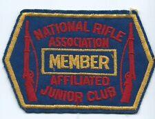 NRA National Rifle Association Member Affiliated Junior Club 2-3/4 X 4