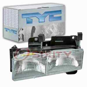 TYC Left Headlight Assembly for 1988-2000 Chevrolet C2500 Electrical ig