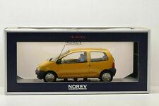 NOREV COLLECTORS 1:18 AUTO DIE CAST RENAULT TWINGO 1993 INDIAN YELLOW ART 185290