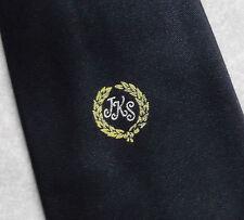 Vintage Tie MENS corbata Crestado Club Asociación Sociedad Jks