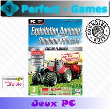 exploitation agricole simulator pro 2014 edition platinum tracteurs PC neuf