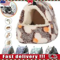 Hamster Cotton Nest Sugar Glider Sleeping Bag Hanging Cage Warm Winter Cage Best