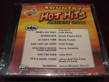 CHARTBUSTER HOT HITS COUNTRY KARAOKE DISC 60470M AUGUST 2011 CD+G MULTIPLEX
