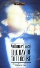 THE DAY OF THE LOCUST by Nathanael West Paperback Great Depression novel