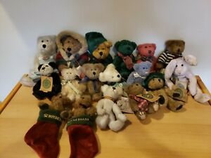 Boyds Bears Lot Of 17 Investment Collectables Archive Holiday Christmas