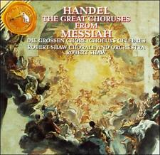 Handel The Great Choruses from Messiah CD 92 RCA SEALED NEW Robert Shaw Chorale