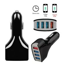 4 Port USB Multi Car Charger Socket Adapter QC 3.0 5V 9V 12V Fast Quick Charge