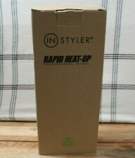 "Pink RAPID HEAT-UP PROFESSIONAL MODEL ""IN STYLER"" HAIR CURLER/ ROLLER 1 1/4"