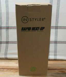 "Pink RAPID HEAT-UP PROFESSIONAL MODEL ""IN STYLER"" HAIR CURLER/ ROLLER 1 1/4"