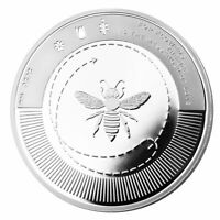 SILVER BEE | SILBER BIENE 2020 1 OZ PR 9999 PP 2. EDITION ONLY 999 COA FL. FRAME