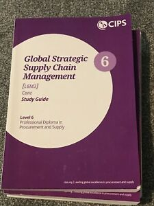 CIPS L6M3 Global Strategic Supply Chain Management Study Guide