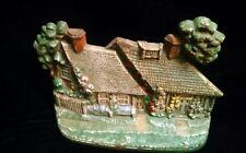 Vintage Hubley Foundry Cape Cod Cottage Cast Iron Doorstop #444
