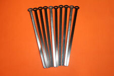 """TRIUMPH BSA CLASSIC VINTAGE 6"""" BLACK ALLOY CABLE TIES X 10 60-4254 NEW PRODUCT"""