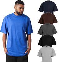 Herren Tall Tee T-Shirt Oversize Übergrößen Lang Big Size bis 6XL