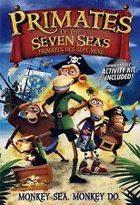 NEW CHILDREN'S  DVD // PRIMATES OF THE SEVEN SEAS // 72 min