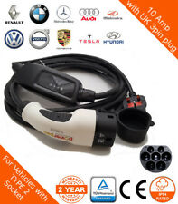 VW Golf GTE Mode 2 Portable Charger UK 3pin  to Type 2 (62196-2)