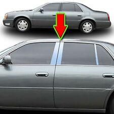 Chrome Pillar Trim for Cadillac Deville/DTS 00-11 6pc Set Door Cover Trim