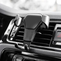 Universal Gravity Car Air Vent Mount Cradle Holder Phone Navigation Device Stand