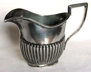 Vintage Silver Plate Britannia Metal Deco Jug