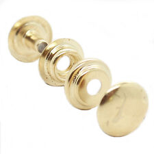 Line 24 Brass Plate Dot Snaps 10 Pack 1263-01 by Stecksstore
