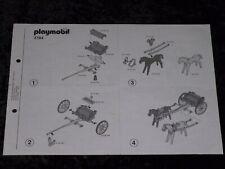 Playmobil Bauanleitung Western 3784 Südstaatler Soldaten Kutschen+Kanone !