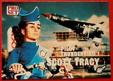 Thunderbirds PRO SET - Card #011, Thunderbird 1 Scott Tracy - Pro Set Inc 1992