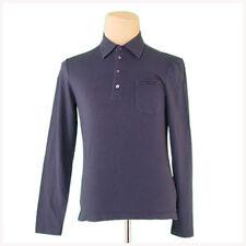 Prada Polo shirt Black Mens Authentic Used L2396