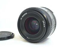 【EXC+++】Nikon AF Nikkor 35mm f/2 Wide Angle F Mount Lens From JAPAN M285