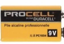 2 NEW 9V Duracell Alkaline Battery PC1604 NEW Exp 2022 FREE SHIPPING