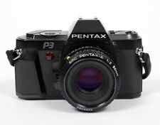 Pentax P3 35mm SLR Film Camera with 50mm F2 SMC Lens (TESTED-GUARANTEED)