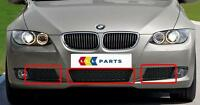 BMW NEW GENUINE 3 SERIES E92 E93 06-10 FRONT BUMPER LOWER GRILL SET OF THREE