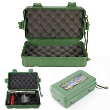 Shockproof Waterproof Airtight Survival Flashlight Torch Lamp Storage Case Box
