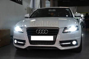 AUDI A4 B8 8K 2008-2015 Pair Bulbs H7 LED Headlight Low Beam 90W 6000K White